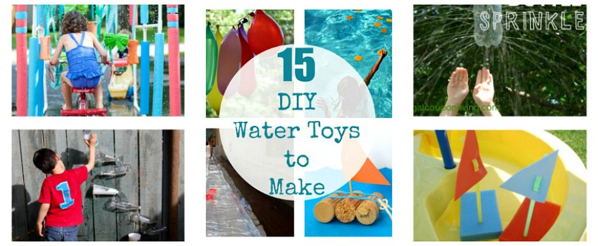 DIY Water Toys to Make for Summer