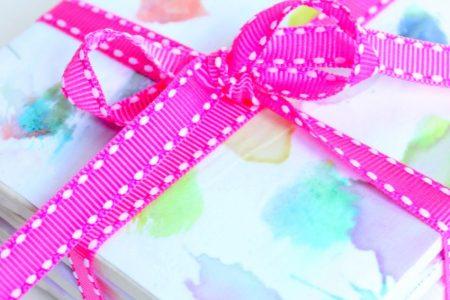 DIY Watercolor Coasters