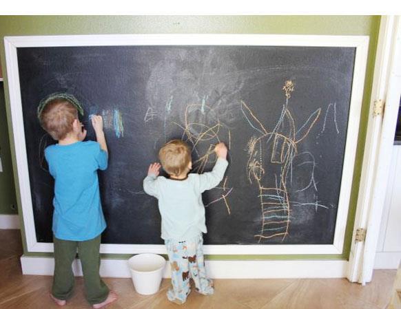 DIY chalkboard wall i dig pinterest