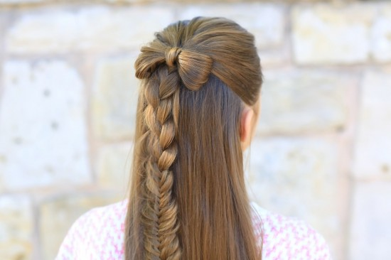 The Y Dutch Braid: This pretty braid will have you looking just like Katniss! Find the tutorial over at Pretty Hair is Fun.
