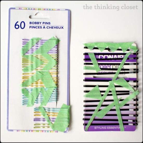 Color-Blocked Bobby Pins