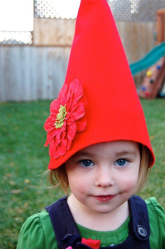No-Sew Gnome Hat