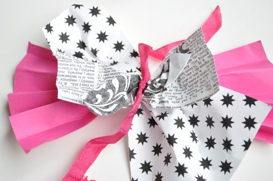 Gift Bow Tied Together