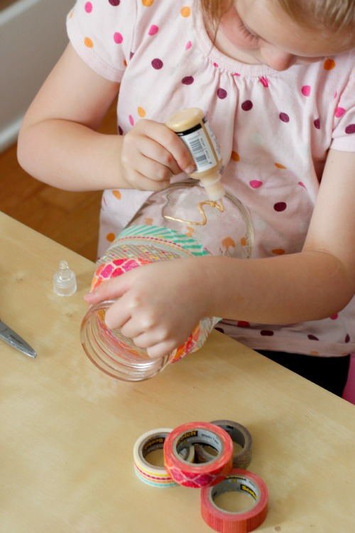 Decorate a Mason Jar Money Bank