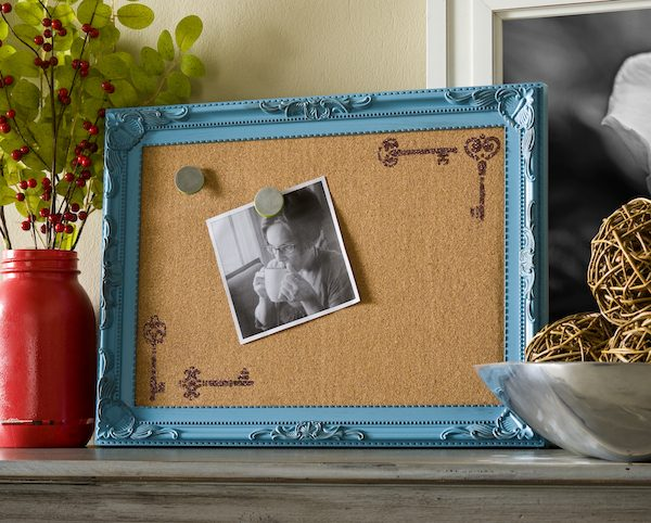 Decorate-a-corkboard-with-new-Mod-Podge-Rocks-stencils