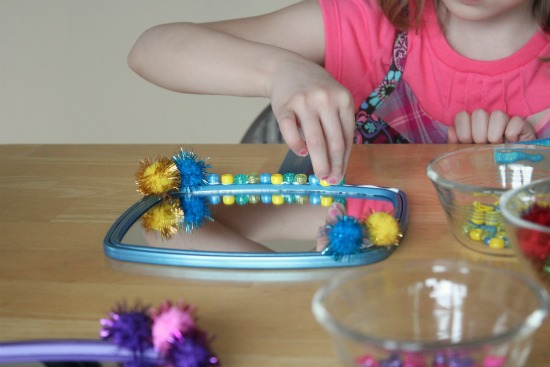 Decorating Mirrors for a Craft