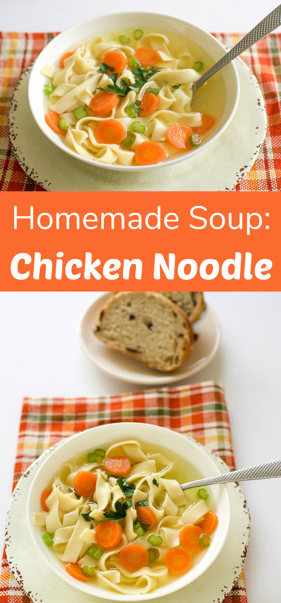 Delish Homemade Chicken Noodle Soup