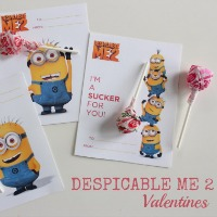 Despicable Me Valentines