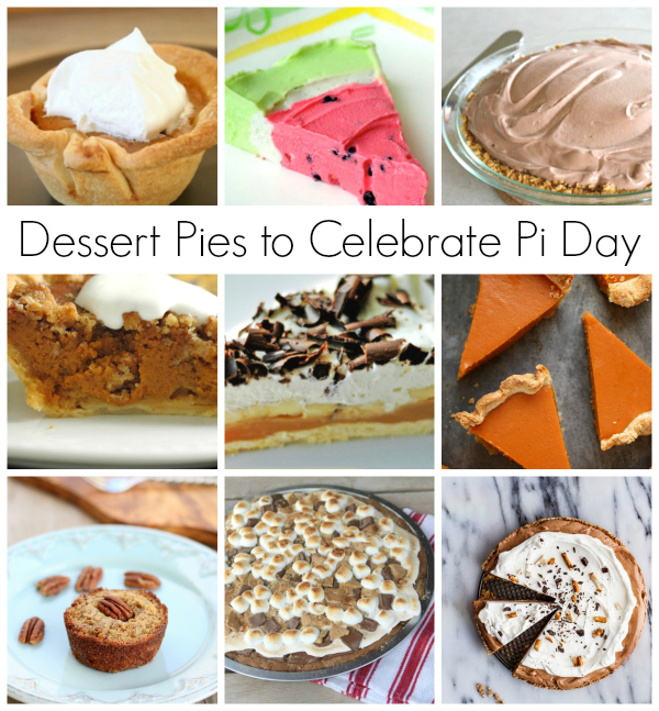 Dessert Pies to Celebrate Pi Day