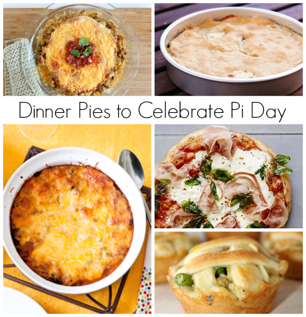 Dinner Pies to Celebrate Pi Day