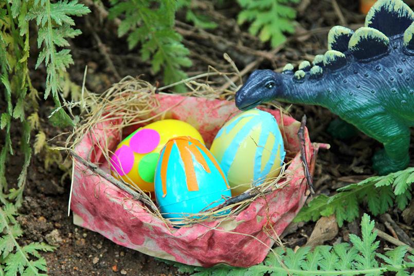 Dinosaur Nest Craft Project