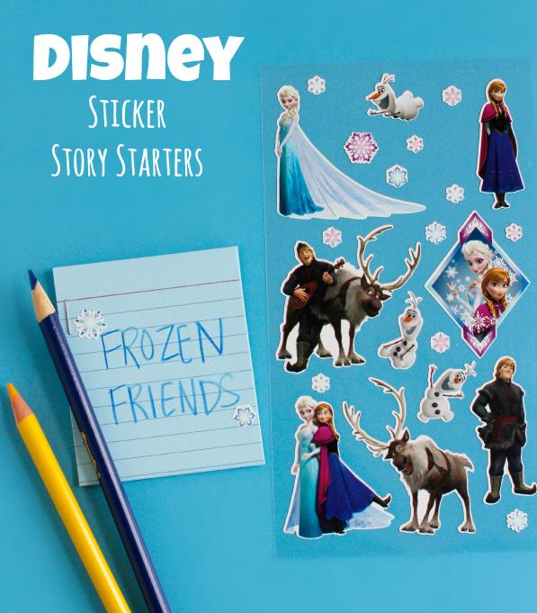 Disney Frozen Movie Sticker Story Starters Craft for Kids