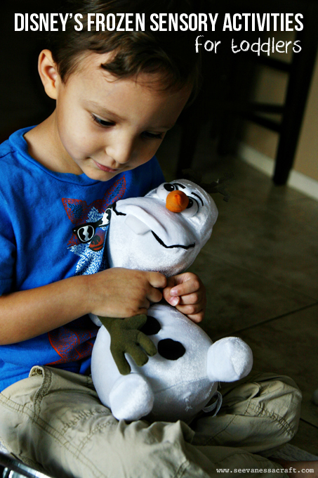 Disney Frozen Sensory Activities