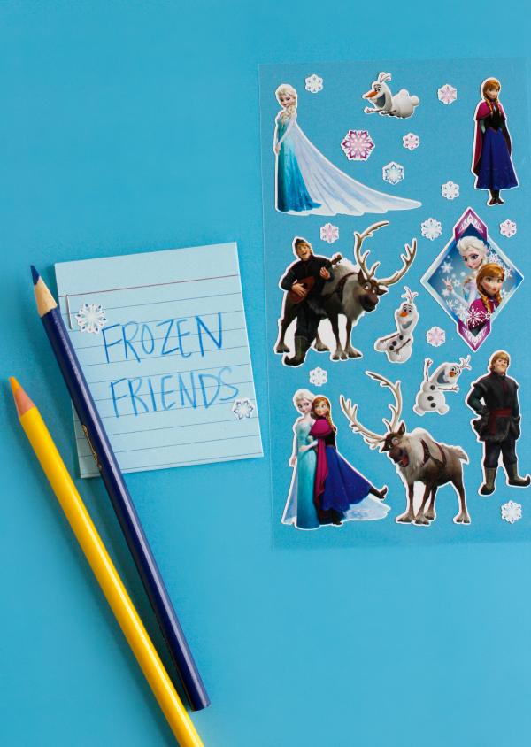 Disney's Frozen Sticker Story Starters for Kids to Write