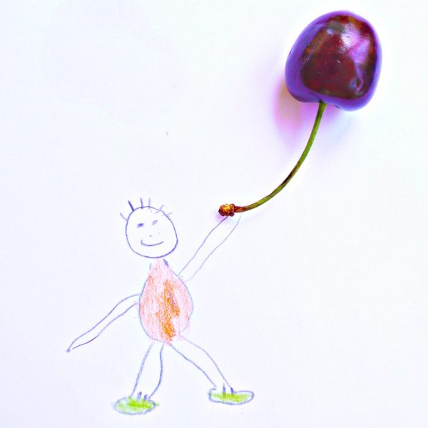 Draw a Cherry Balloon