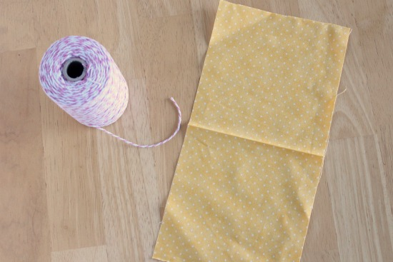 how to make a drawstring bag with a serger