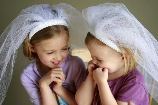 Dress up Wedding Veil