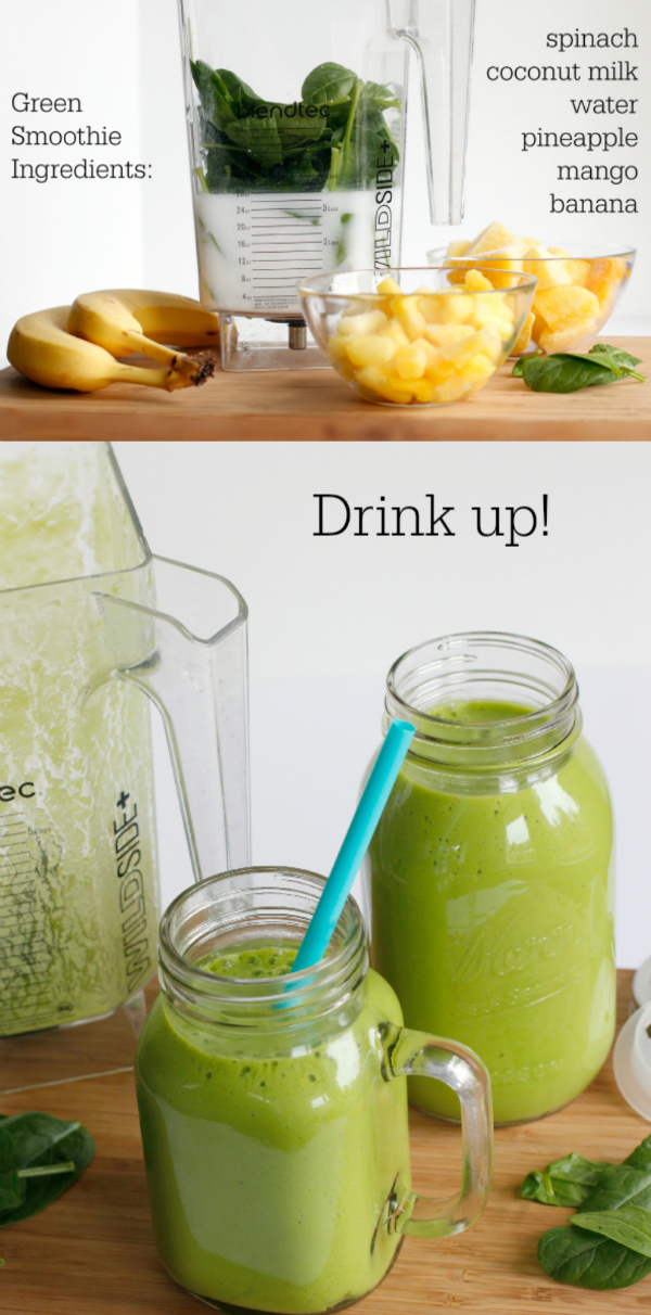 Drink Up Your Simple Green Smoothie