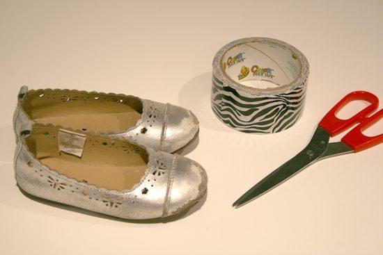 Duck Tape Shoe Tips 3 _ materials
