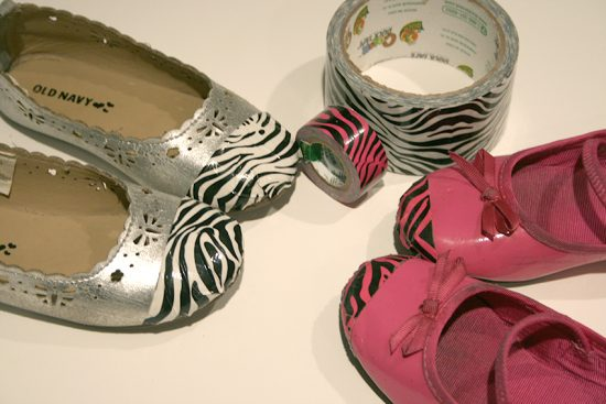 Duck Tape Shoe Tips 7 _ finished