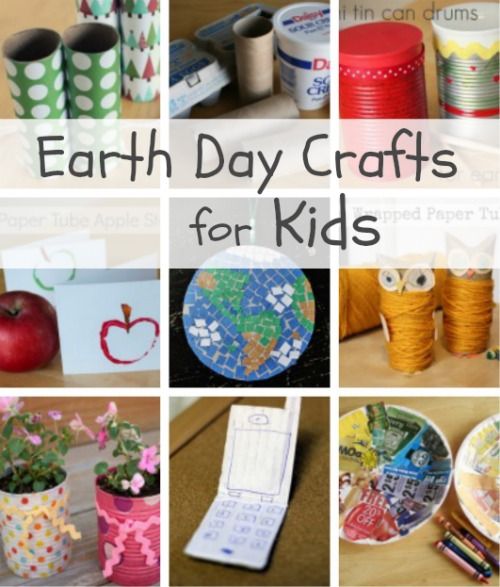 Earth Day Kids Crafts makeandtakes.com