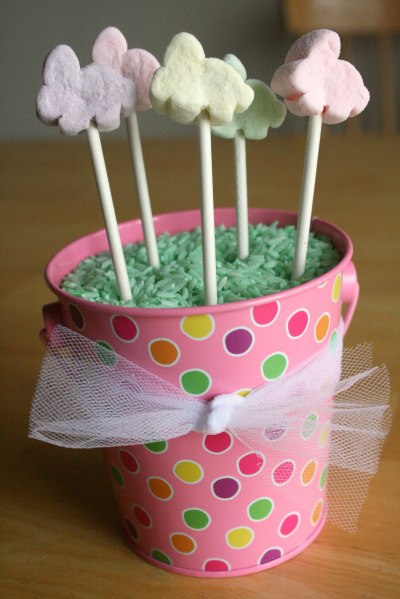 Easter Candy Lollipops