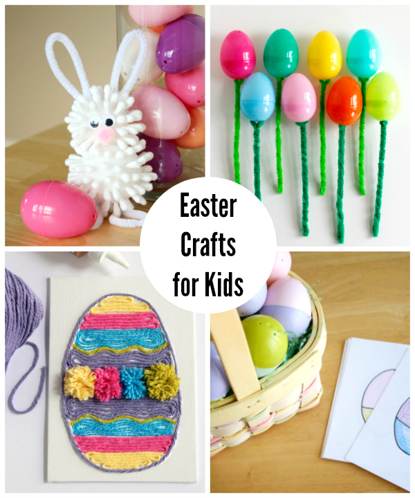 easter egg yarn art make and takes