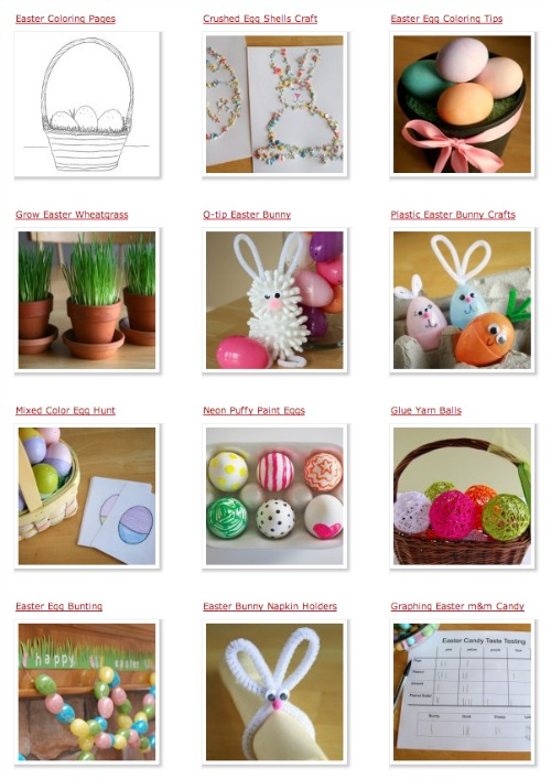 Easter Crafts makeandtakes.com