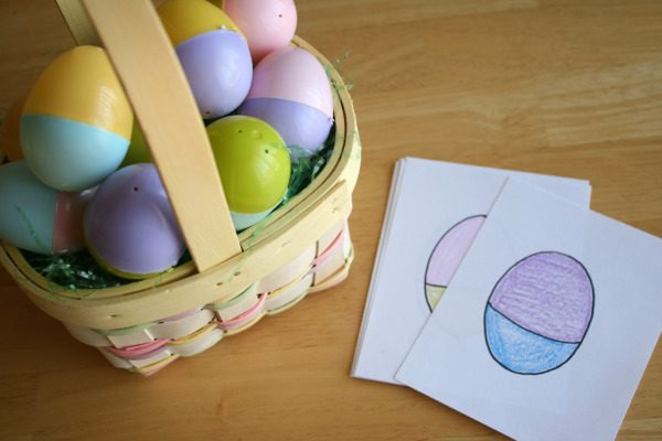 Easter Egg Color Matching Game