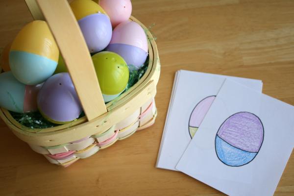Mix and Match Plastic Easter Egg Hunt