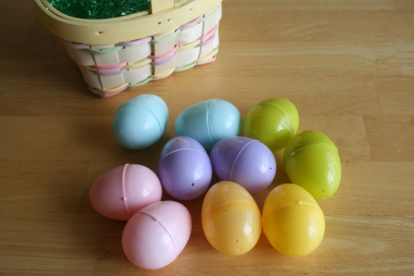 Plastic Eggs for Egg Hunt