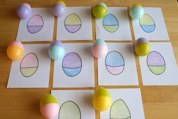 Easter Egg Mix Up