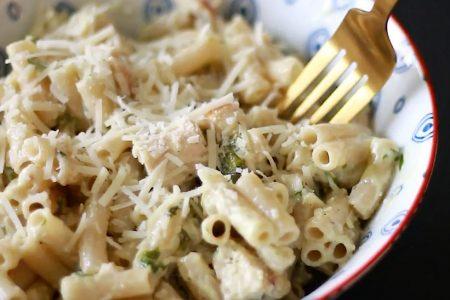 Easy Chicken Pesto Pasta for Dinner