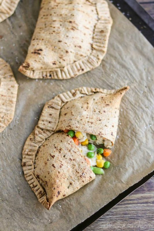 Easy Chicken Pot Pie Hand Pies