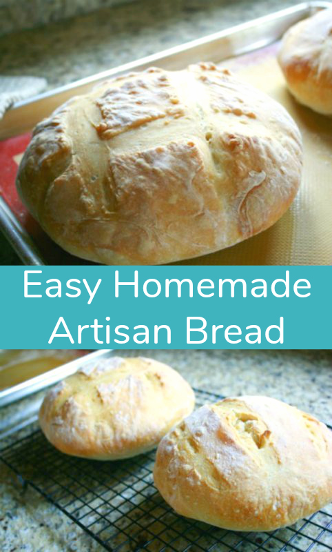 Easy-Homemade-Artisan-Bread-Recipe
