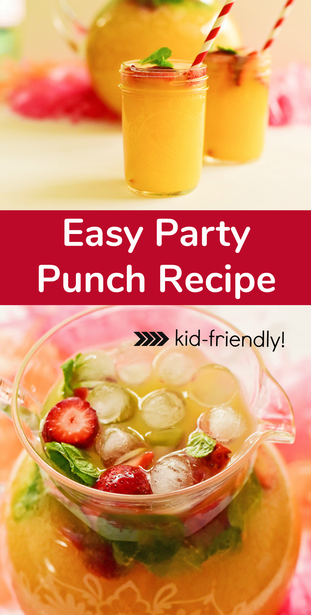 Easy Party Punch Recipe - Kid-Friendly!