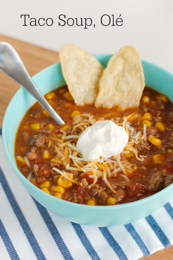 Easy Taco Soup for Dinner