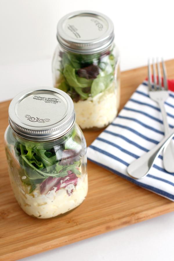 Egg Salad Mason Jar Recipe