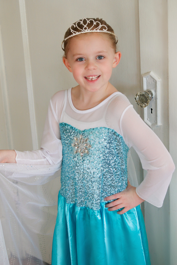 Elsa Dress from Frozen on Totspot