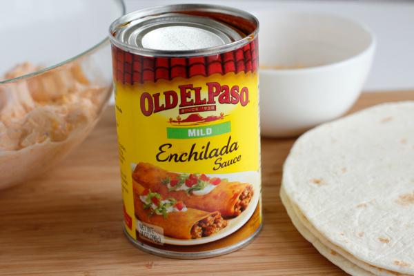 Enchilada Sauce for Chicken Enchiladas