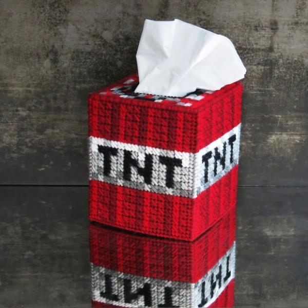 TNT Tissue Box Cover