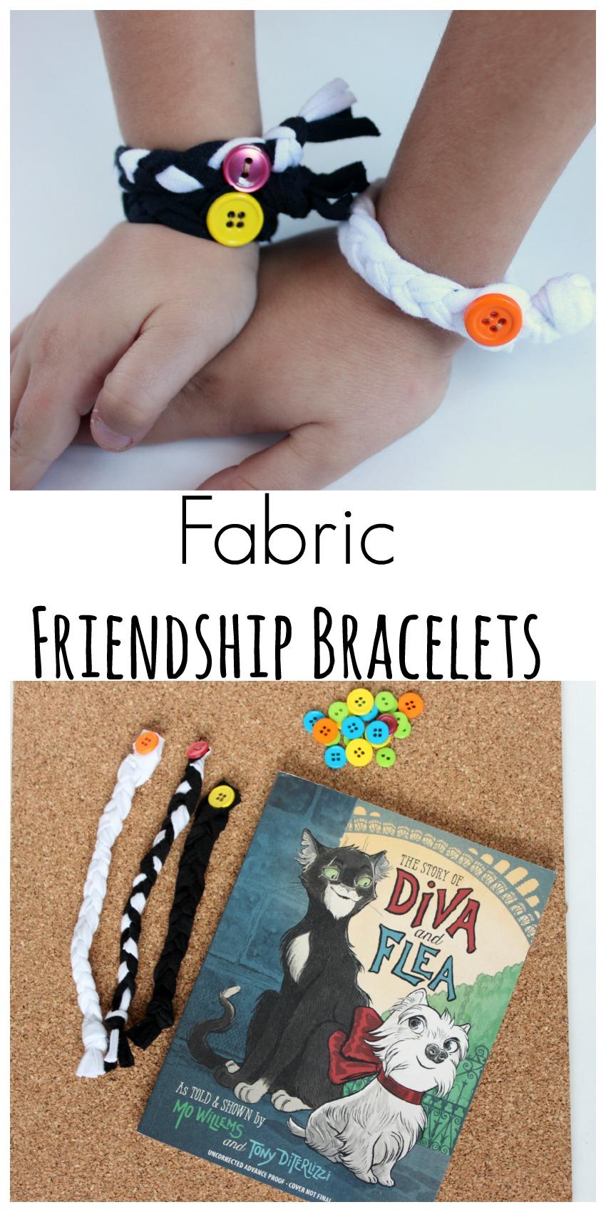 Fabric Friendship Bracelets Craft for Kids