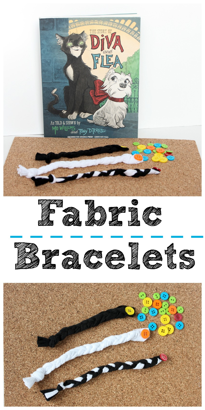 Fabric Friendship Bracelets