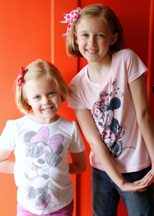 Fashionista Girls with Cute Hair Bows