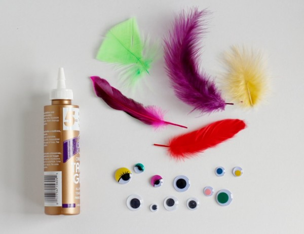 Feather Fish Kids Craft Supplies