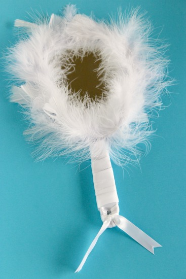 Feather Mirror for Snow White Craft