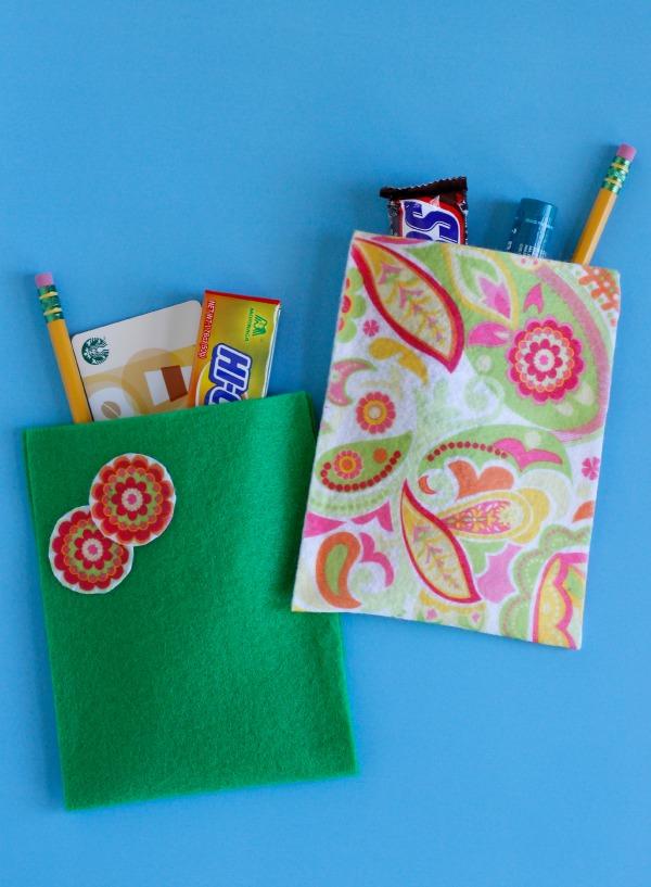 Felt Gift Bags for Teacher