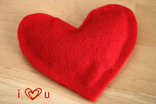 Hide And Seek With Heart Shaped Bean Bags Make And Takes