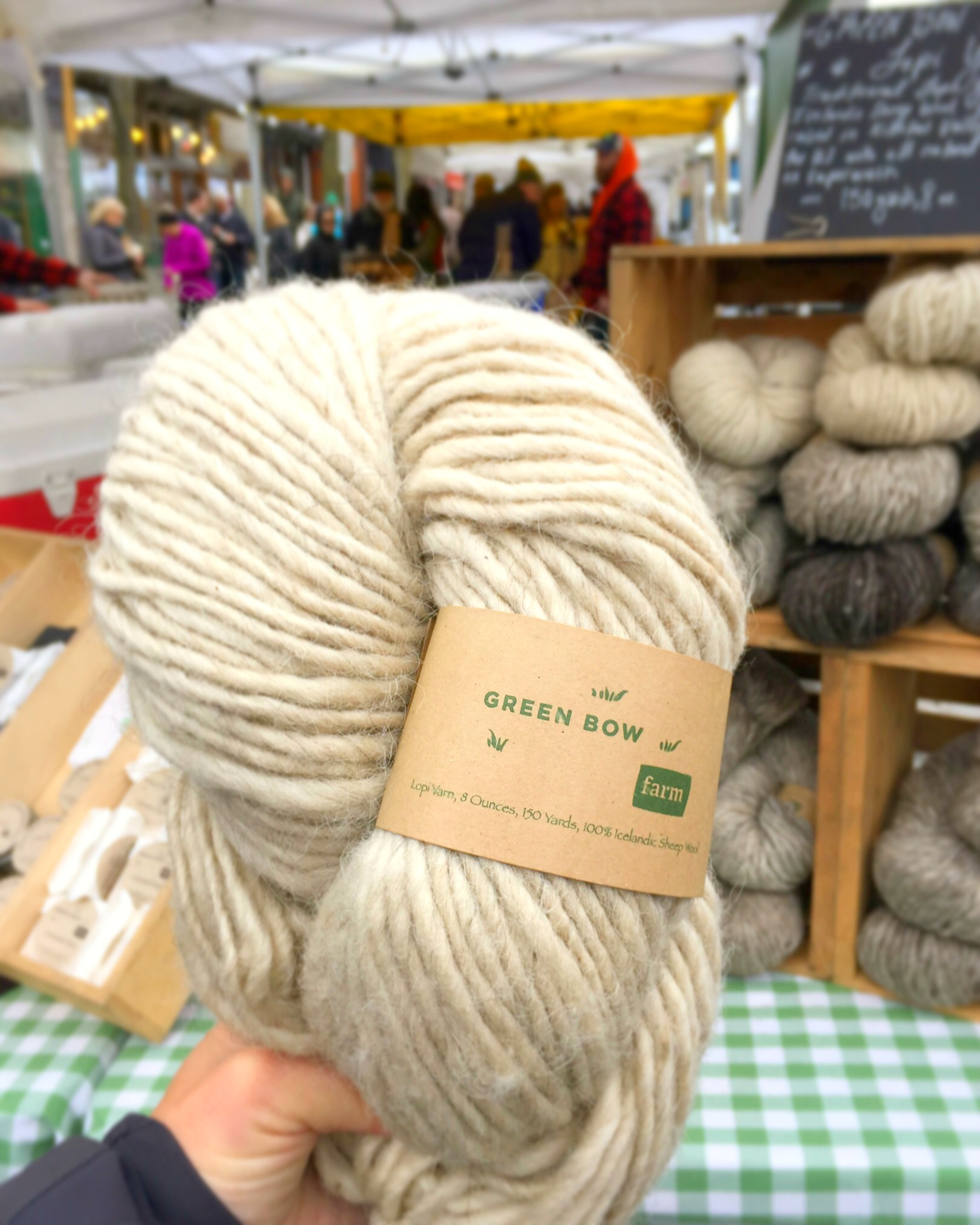 Finding Farmers Market Yarn