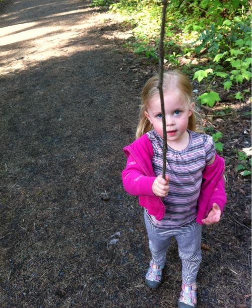 Finding a good stick